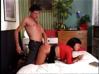 Hot Mom N153 Brunette Anal Mature Milf And A Young Man