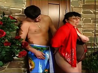 Young Boy Fucks Mom In Their Ass