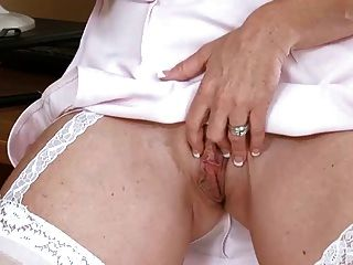 Office Mature Solo Masturbation... It4reborn