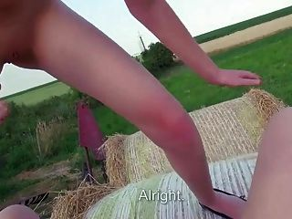 Couple Fucking On The Green Field