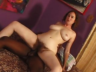 Hairy Woman Fucked By Black Man - P2