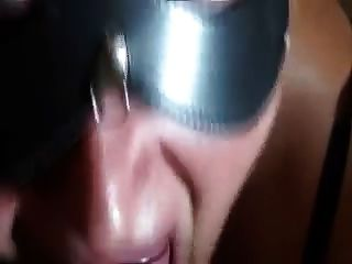Cum On Tongue Close Up Latina