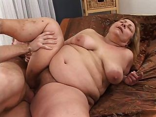 Big Blonde Granny Dina