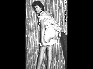 Vintage Upskirt. Stockings. Slideshow