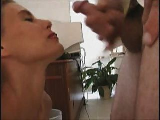 Sexy Milf Blows And Gets A Great Facial Cumshot