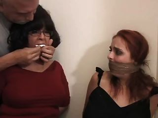 Ashley Graham And Vanessa Bound And Gagged