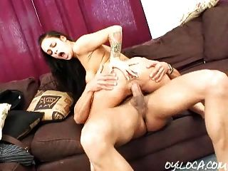 Busty Angelina Valentine Riding And Sucking A Big Cock