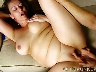 Busty Mature Broad Enjoys A Hot Fuck And A Sticky Facial