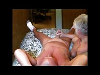 Grandma Masturbates Grandpa Bvr