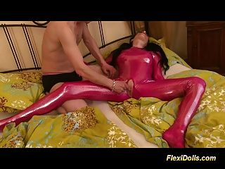 Flexible Doll Gets Hard Fucked And Cumshot Load Sex