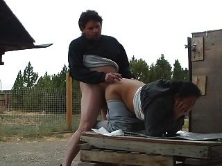 Fucking Whore Filipina Wife Outside.