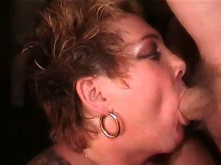 Big Tits British Slutrona Sucks More Cocks & Takes More Cum