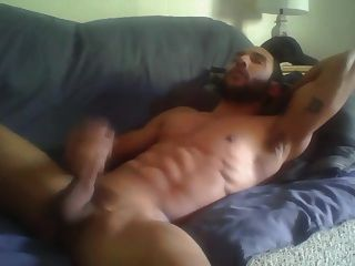 Str8 Fit Guy On Couch