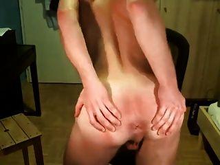 Young Swedish Boy Jerk