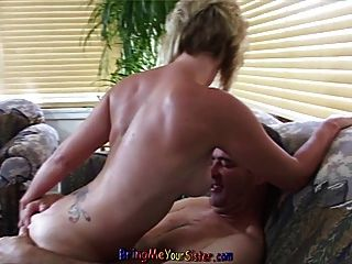 Big Cock Anal Fucking Of Not My Dirty Blonde Sister