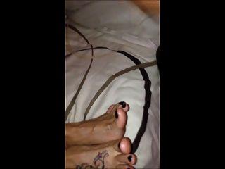 Shootin My Hot Sticky Load Ova Jaynes Feet