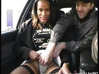 Black Milf In Stockings, Sodomized