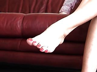 Woman With Gorgeous Toes