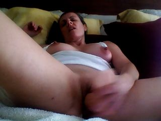 Horny Milf Gets Off