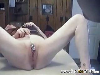 Mature Slut Lisa Fucked By Black Stud On A Kitchen Table
