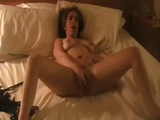 Amateur Wife Toys Her Pussy To Orgasm !