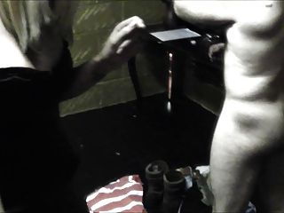 Sophie And Friend Ballbusting