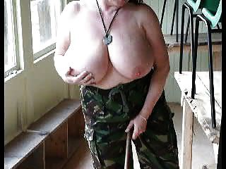 Toni F In The Army