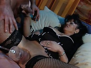 Pumped Pussy 2 (fishnet Stockings)