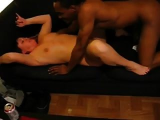 White Wife Fucked On Couch By Black