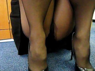 Pantyhose Upskirt