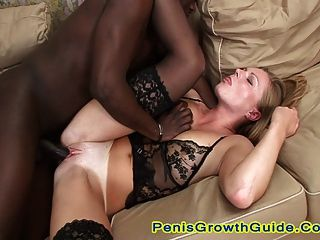 Two Hot Blonde Enjoy A Double Fuck