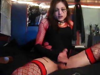 Masturbating To A Hot Cum Shot