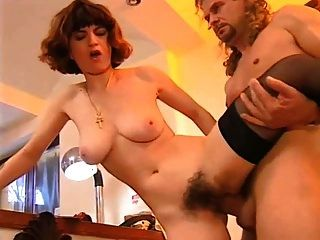 Mom With Hairy Cunt & Pretty Body Fucks At All Holes