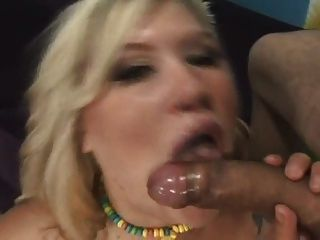 Bbw Blonde With Big Tits Moans On Cock