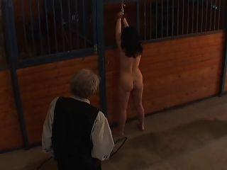 Naked Barn Whippings