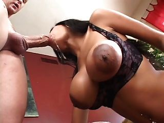 Mika Brown Sucks And Rides A Cock