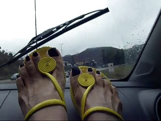 Feet On The Dashboard