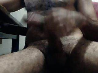 Big Curved Uncut Latino Dick
