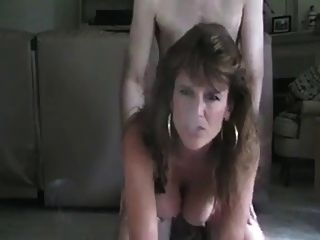 Dirty Talking Smoking Milf Fucked