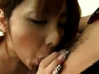Ladyboy Cums In Girls Mouth