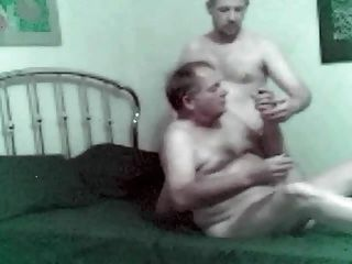 Grandpa Bill And I Fool Around On The Bed