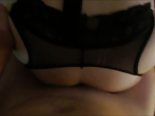 Anal With Sexy Stocking Lingerie Girl