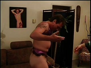 Wife Makes Him A Sissy. Strapon