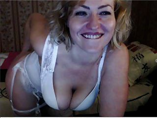 Russian Blonde Mature Mommy Talks Dirty