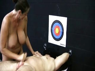 Miss Moon Hits The Target With His Semen By Wf