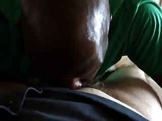 Lil Dick Black Bear Swallows White College Cum
