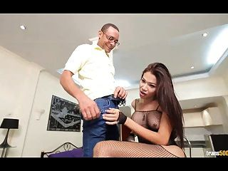 Sexy Asian Tranny Suck And Fuck Big Cock