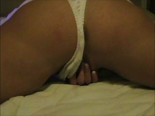 Wife Fingering Her Pussy From Behind