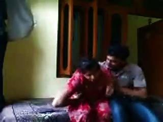 Punjabi Bhabhi In Red Salwar Fuck Show