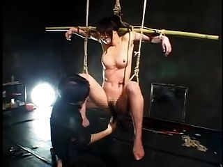 Suspended Japanese Milf-multiple Orgasms